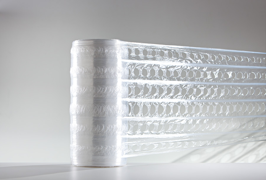 Meshed Stretch Foil