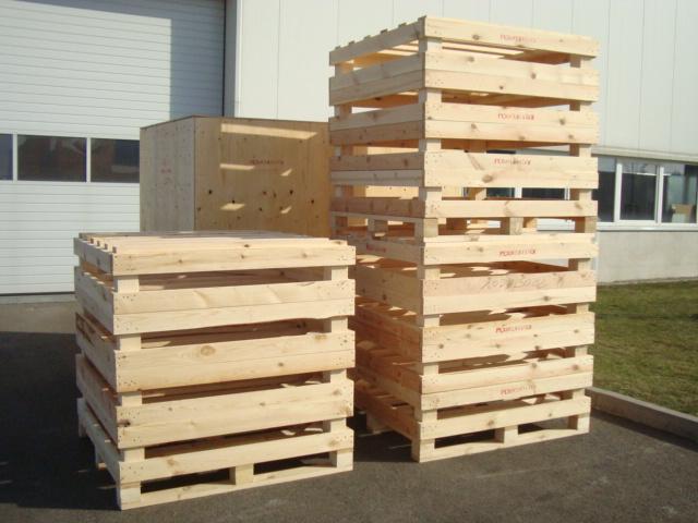 wooden casing