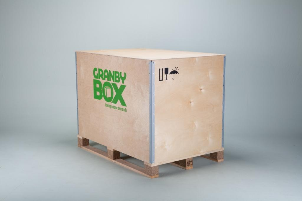 GRANBY BOX   A Wooden Shipping And Storage Container With Exceptional  Properties. Unfolded, It Hardly Takes Up Any Space. Even A Small Child Can  Fold It ...