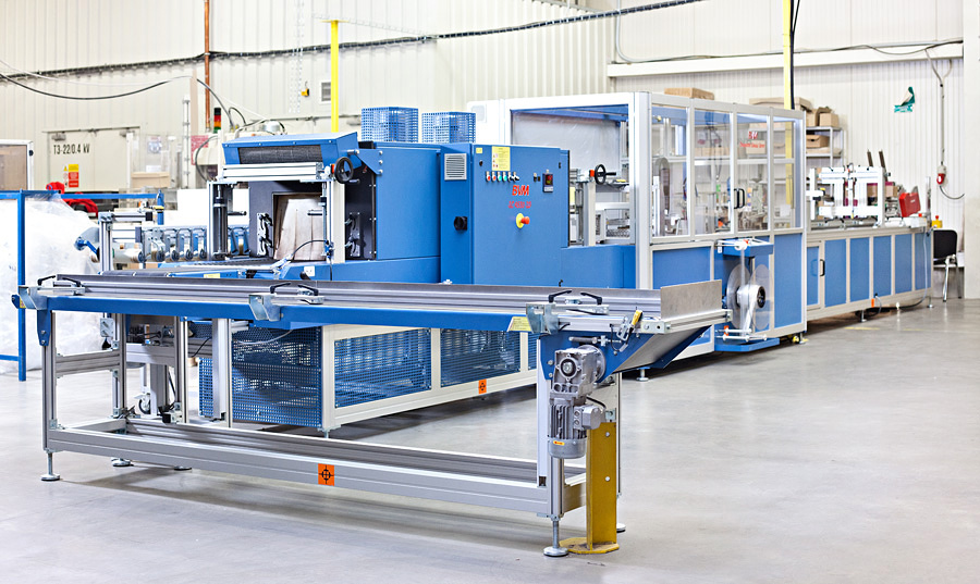Packaging line BVM