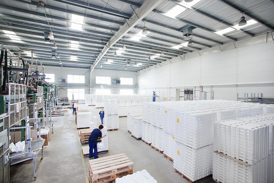 Výroba pěnového polystyrenu