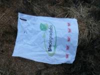 Vrecko vložené na kompost